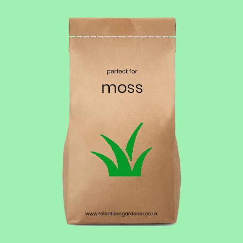 Moss killer for Lawns