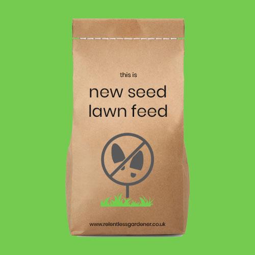 New Seed Lawn Feed Fertiliser UK