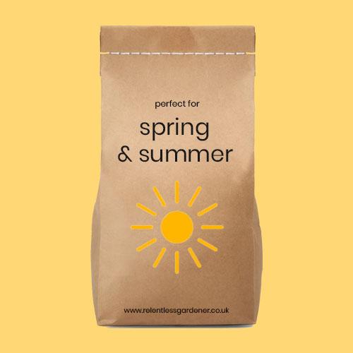 Spring Summer Lawn Fertiliser UK