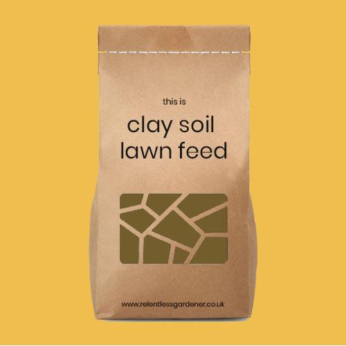 Clay Soil Lawn Feed Fertiliser UK