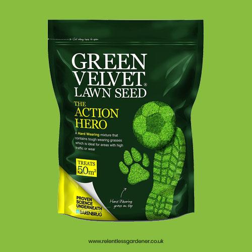 Hard Wearing Grass Seed Green Velvet Main
